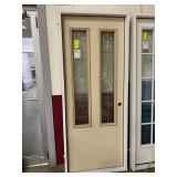 32in x 80in LH fiberglass twin lite door