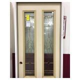 32 RH fiberglass entry door
