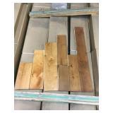Mixed Colors of Hardwood Flooring x420sq/ft