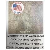 12x24 waterproof Vinyl tiles by the sq ft x 704