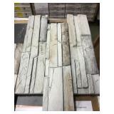 6x24 Silver mine stone Ledgestone flats x 16bx