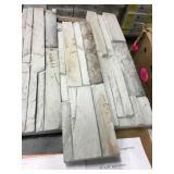 6x24 Silver mine stone Ledgestone flats x 16 bx