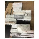 Silver mine stone pre cut corners x 15 bx