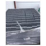 Pallet of galvanized corrugated fastners