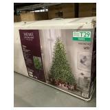 7.5 ft. Elegant fir LED pre-lit tree with timer