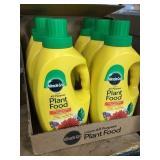 Miracle-Gro liquid all purpose plant food x 6