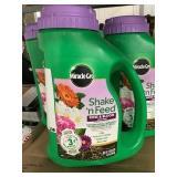 Miracle-Gro shake n feed rose & bloom x3 jugs