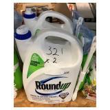 Roundup weed & grass killer x 2