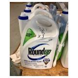 Roundup weed & grass killer x 3