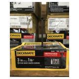 Case of Deckmate 3in screws x 2