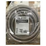 Case of 12ft polymer braided ice maker connectors