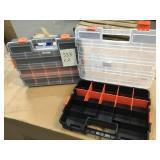 Hex tool sorting case x 2 -slightly damaged