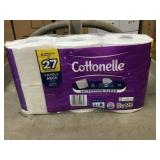 Cottonelle toilet tissue 24 roll case x 6