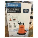 2 in 1 Utility Pump Garden Hose Discharge