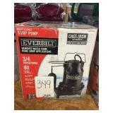 Professional Sump Pump Cast Iron