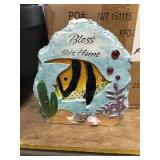 Fish Garden Stones x 6