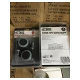 """1-9/16"""" Twin Casters x4"""