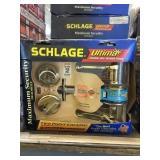 Schlage LH Front Entry Handle Set x6