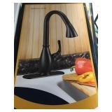Single Lever Kitchen Faucet w/ Sprayer