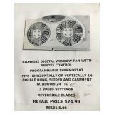 Bionaire digital window fan with remote control