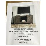 Threshold quality and design TV stand