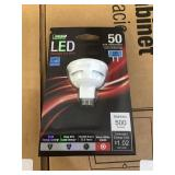 Dimmable LED MR16 replacement bulbs x2