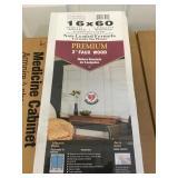 16in x 60in nonleaded premium 2 inch blinds x4