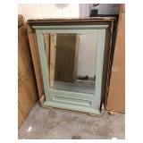 27in x 36in wall mirror