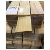3in x 7ft 4in pine case 11 bundle x803LF