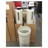 Novo two tank water softener w/ Carbon filter