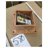"""4"""" x 4"""" composite post anchors DISPLAY"""