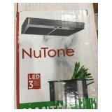 30in Nutone mantra stainless steel range hood