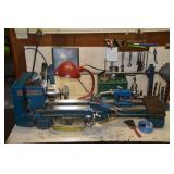 Atlas lathe & accessories