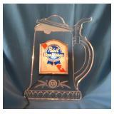 PBR acrylic mug, lighted