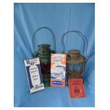 RR lanterns & paper goods