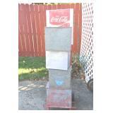 Coke cart & milk boxes