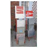 2nd view of Coke & milk boxes
