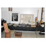 Ansel Adams, small trunk, etc.