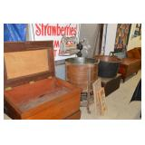 Very nice tool chest, washer, kettle