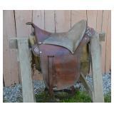 Hand crafted Buena Vista saddle