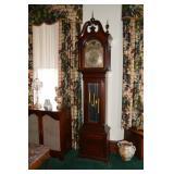 "Classic Moon Dial 108""  tall clock"