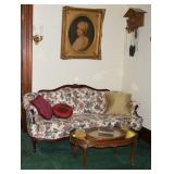 French traditional sofa, etc.
