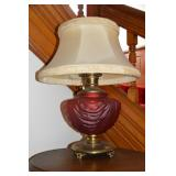 2nd view of red lamp