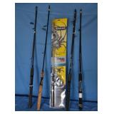 New Spinning rods