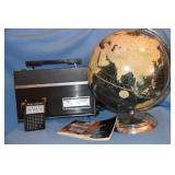 Transatlantic Radio, globe, etc.