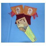 Roy Rogers gloves, Daisy pistol