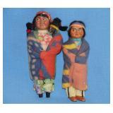 Skookum Indian dolls