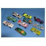 Example of Hot Wheels cars