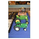 Oliver & John Deere tractors