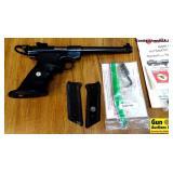 Ruger MARK II .22 LR Semi Auto TARGET Pistol. Exce